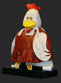 Bertha de Goochel kip Ramon